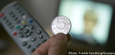 Swedes paying TV licence fees in droves