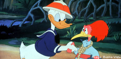Weather clears in time for Donald Duck