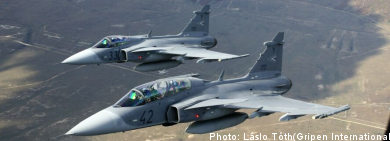 Green light for Gripen fighter sale to Thailand