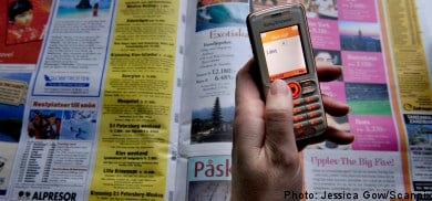 Young Swedes trapped by SMS loan debt
