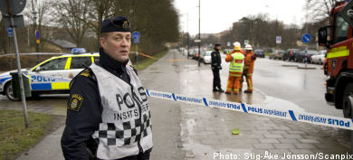 Malmö rocked by morning crime wave