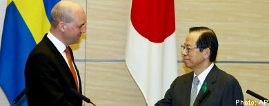 Sweden and Japan agree on climate cooperation