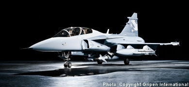 Saab submits Gripen offer to Norway