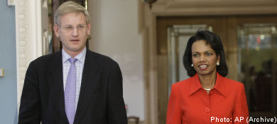 Rice to visit Sweden for Iraq conference