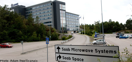 Man arrested for spying on Saab