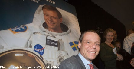 Swede set for second space adventure