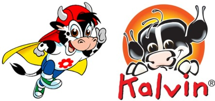 Cartoon cow sparks dairy law suit
