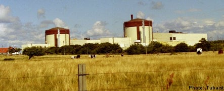 Fire at Swedish nuclear power plant