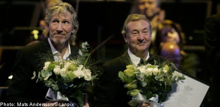 Pink Floyd and Renee Fleming accept Polar Music Prize