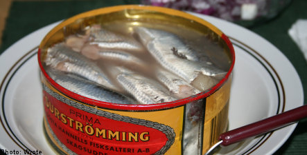 Swedish prison: fermented herring a 'security risk'