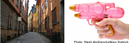 'Water war' planned for Stockholm's Old Town