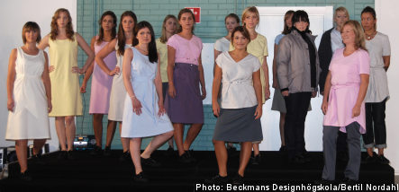 Students design outfits for Swedish women prisoners