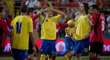 Sweden draw a blank in World Cup opener