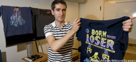 T-shirts in Sweden contain toxic chemical