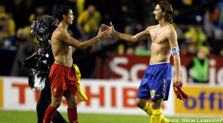 Sweden held by Portugal in World Cup qualifier