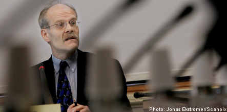 Riksbank: crisis 'clearly affecting' Sweden