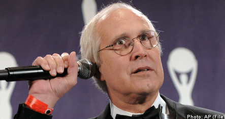 Chevy Chase to guest star in Swedish sitcom