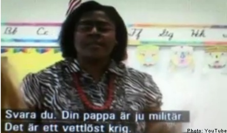 US teacher in trouble over comments in Swedish film