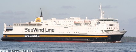 Engine fire forces Baltic ferry evacuation