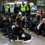 Police detain 470 at neo-Nazi demonstration