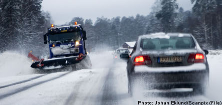 Accidents abound on icy roads