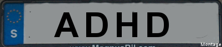 Attention deficit barred from Swedish car plates