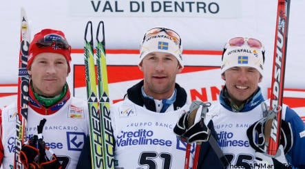 Swede wins World Cup skiing classic