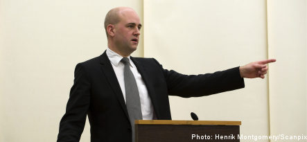 Reinfeldt urges banks to cut mortgage rates