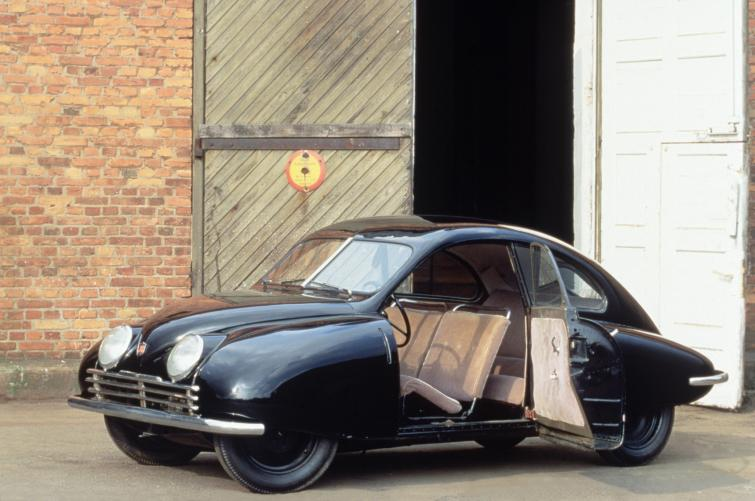 Saab 92 prototype <br>Manufactured in 1947Photo: GM