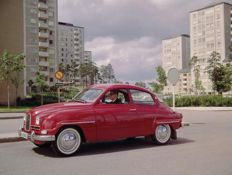 Saab 96<br>Manufactured in 1963Photo: GM
