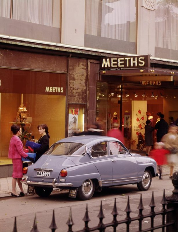 Saab 96<br>Manufactured in 1968Photo: GM