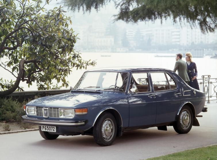 Saab 99<br>Manufactured in 1972Photo: GM