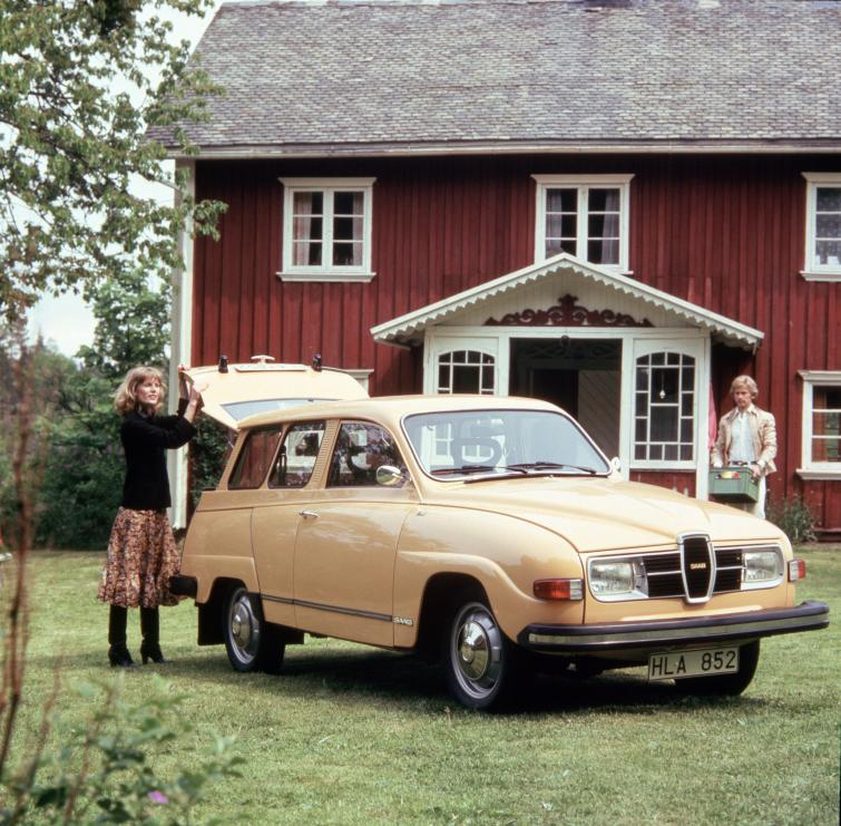 Saab 95<br>Manufactured in 1976 Photo: GM
