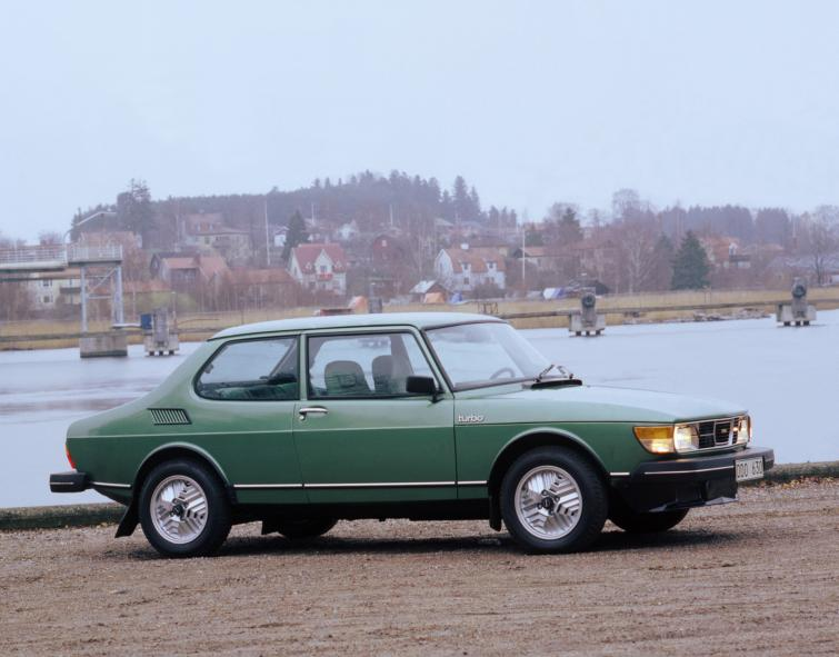Saab 99 Turbo<br>Manufactured in 1980Photo: GM