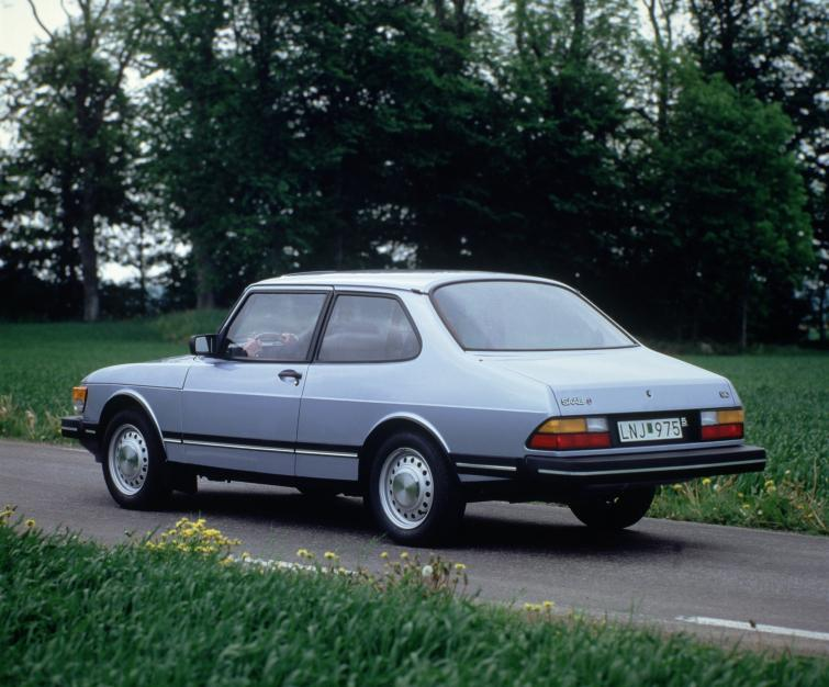 Saab 90<br>Manufactured in 1985Photo: GM