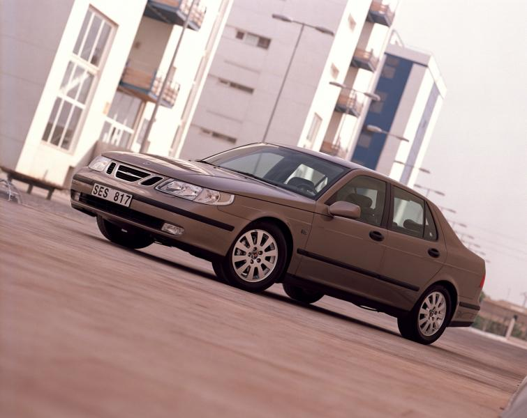 Saab 9-5<br>Manufactured in 2002 Photo: GM