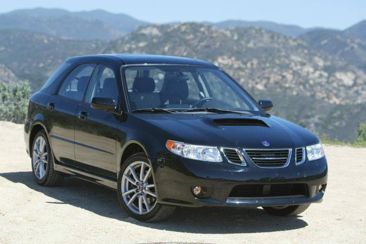 Saab 9-2X<br>Manufactured in 2005Photo: GM