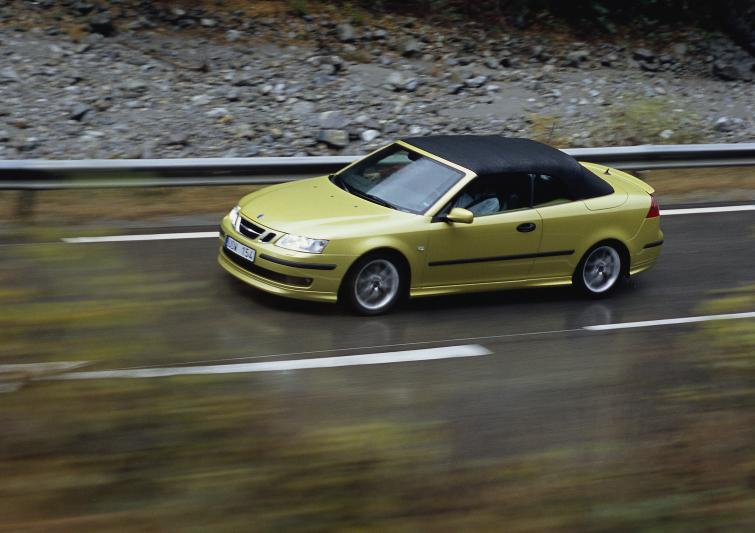 Saab 9-3 Convertible<br>Manufactured in 2005Photo: GM