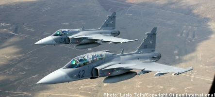 Austrian count arrested for Saab Gripen bribes