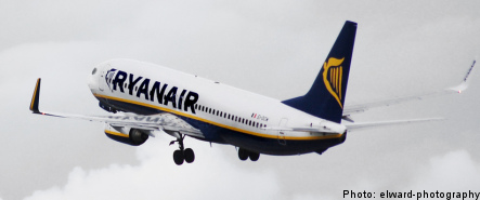 Ryanair forced to pay damages in Sweden