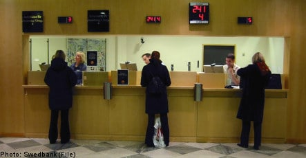 Swedes have less trust in banks: study