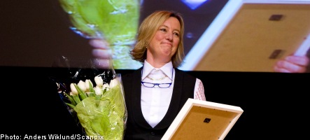 AMF Pension CEO named Sweden's top businesswoman