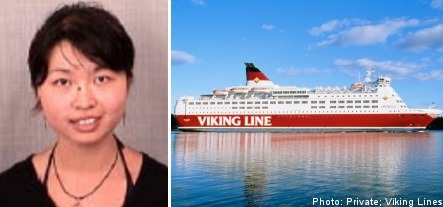 Chinese woman missing after ferry trip