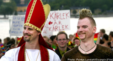 Sweden passes new gay marriage law