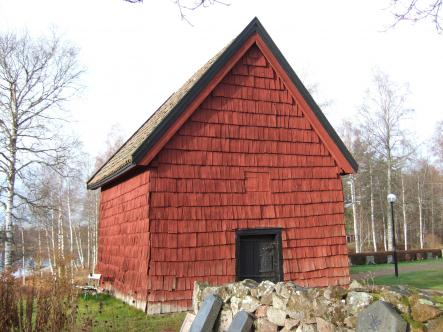 Ingatorp outhouse: Sweden's oldest secular wood building