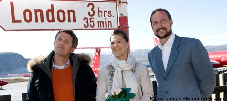 Princess Victoria on climate change visit to Greenland