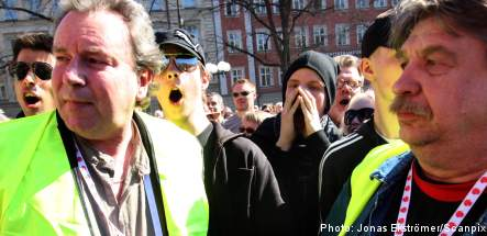 Lundby-Wedin booed during May Day speech