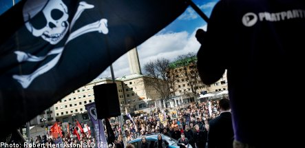 Pirate Party Sweden's third-largest: poll