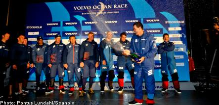 Swedish boat sails to overall victory in Volvo Ocean Race