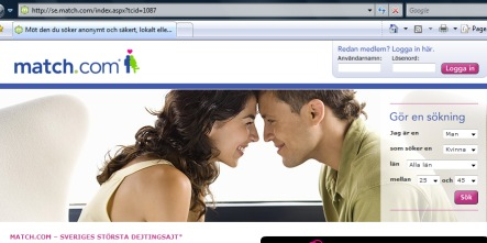 More Swedes seeking love online in tough economic times